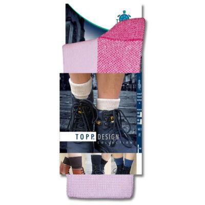 Vastag meleg TOPP design rózsaszín