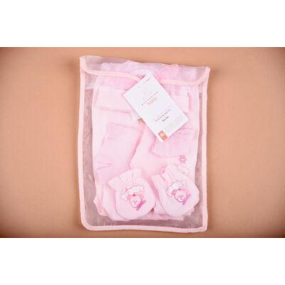 Újszülött kezdő csomag rózsaszín