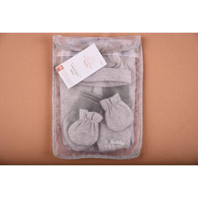 Újszülött kezdő csomag szürke
