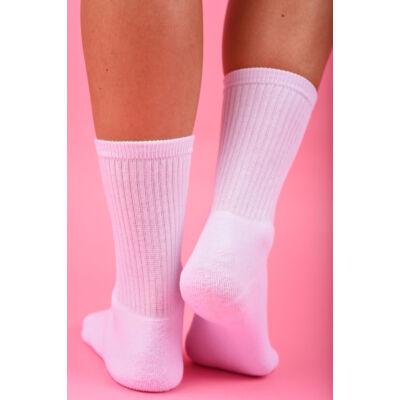 Női sportzokni- elasztikus fehér