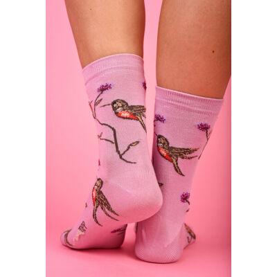 Női bokazokni kolibri