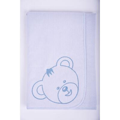Teddy kék takaró