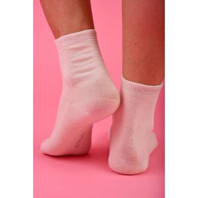 Egyszínű Női dobozos zokni Latte (tejfehér)