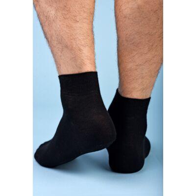 Felnőtt rövid szárú zokni fekete