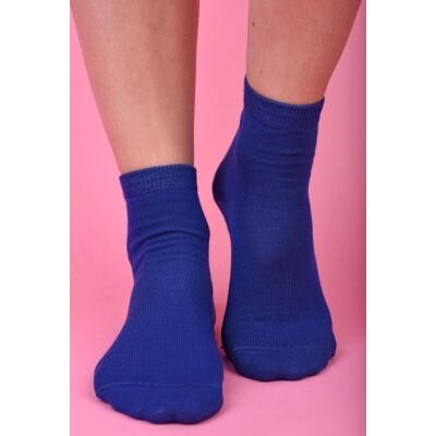 Női bokazokni Jenny kék