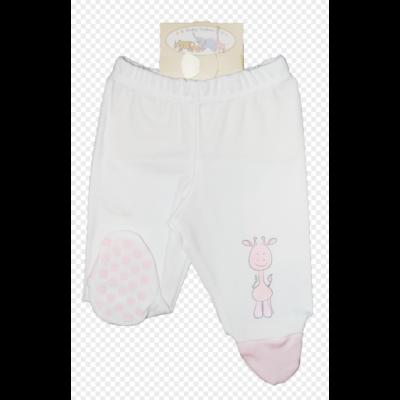Safari talpas nadrág fehér-rózsaszín