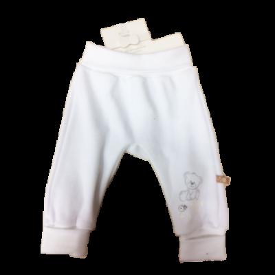 Teddy fehér pülss nadrág
