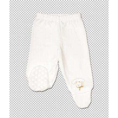 Teddy talpas nadrág fehér