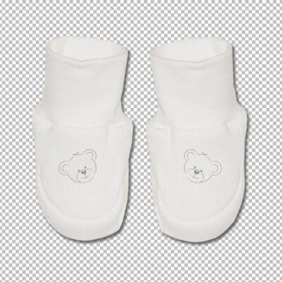 Teddy pamut cipőcske világoskék
