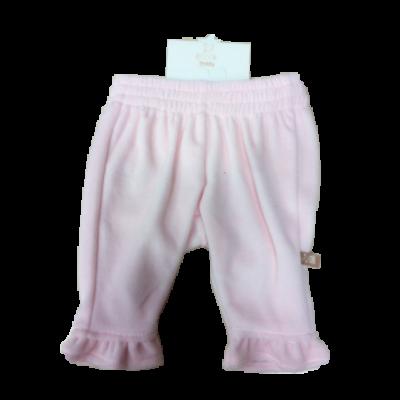 Teddy rózsaszín fodros plüss nadrág