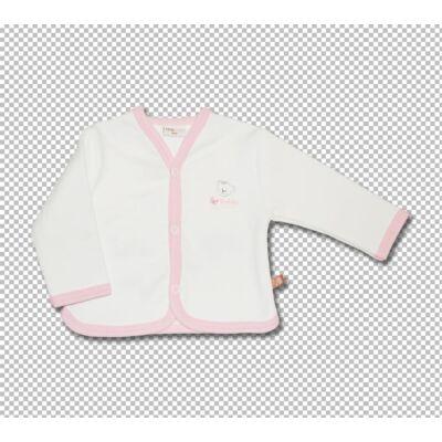 Teddy kocsikabát rózsaszín