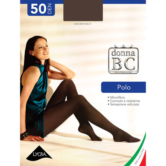 Polo 50 den harisnyanadrág 1/2 méret Bianco