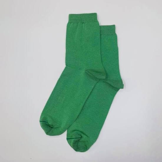 Női bokazokni Jenny zöld