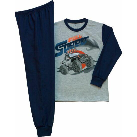 Fiú pizsama terepjáró 128