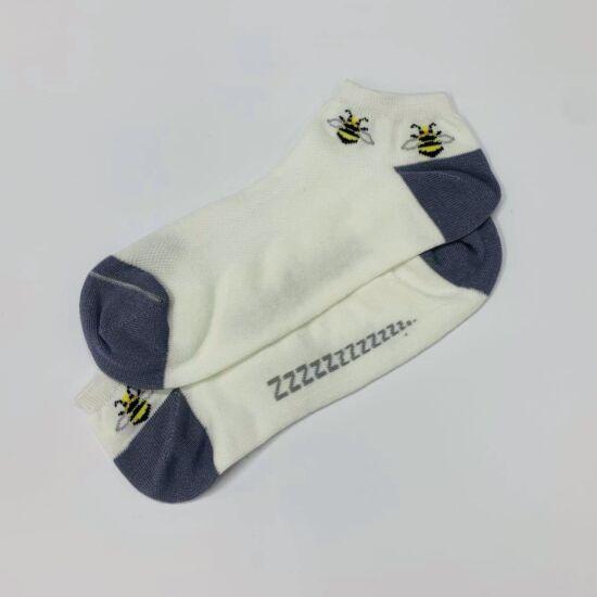 Női titokzokni méhecske