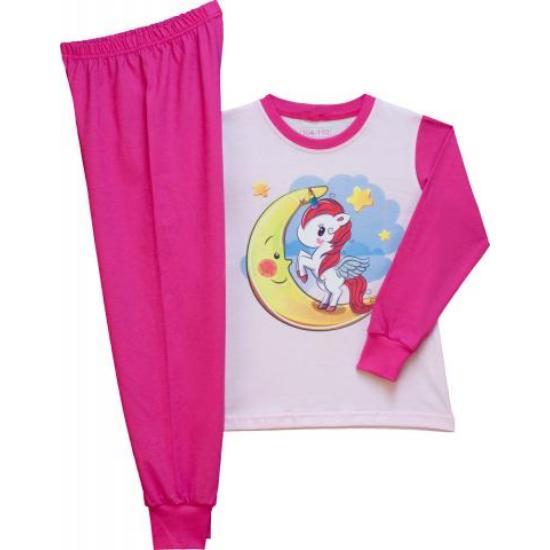 Lány pizsama unikornis 116