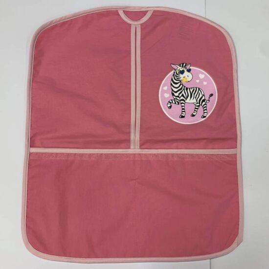 Ovis zsák rózsaszín zebra