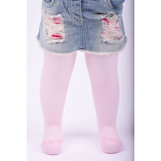 Teddy bordás harisnyanadrág rózsaszín