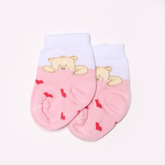 Teddy bokazokni maci rózsaszín