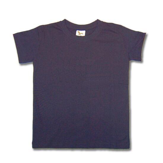 Gyermek póló sötétkék színű