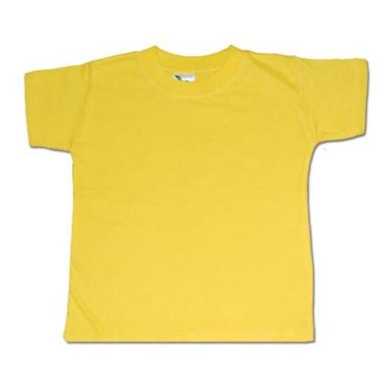 Gyermek póló-sárga színű
