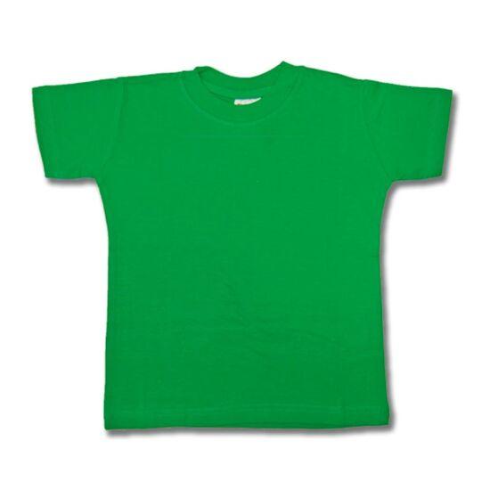 Gyermek póló zöld színű