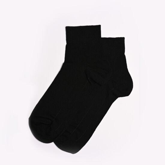 Rövidszárú wellness zokni fekete