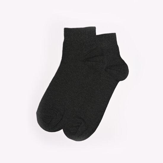 Felnőtt rövid szárú zokni s.szürke