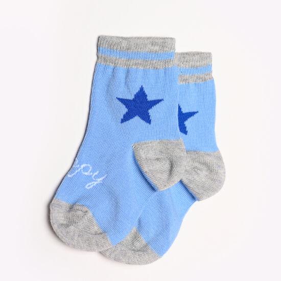 Baba zokni/Bokazokni nagy kék csillag