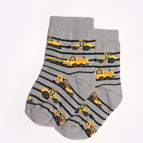 Baba zokni/Bokazokni sárga markolók
