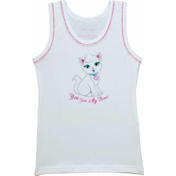 Lány atléta cicás