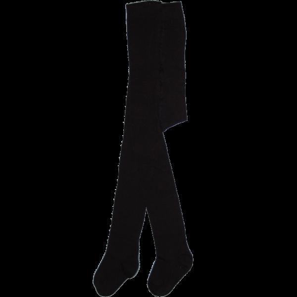 Egyszínű fekete bébi harisnyanadrág
