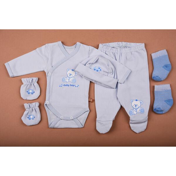 Újszülött kezdő csomag kék