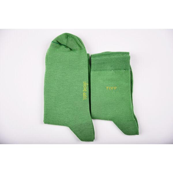 Bokazokni egyszínű zöld szett