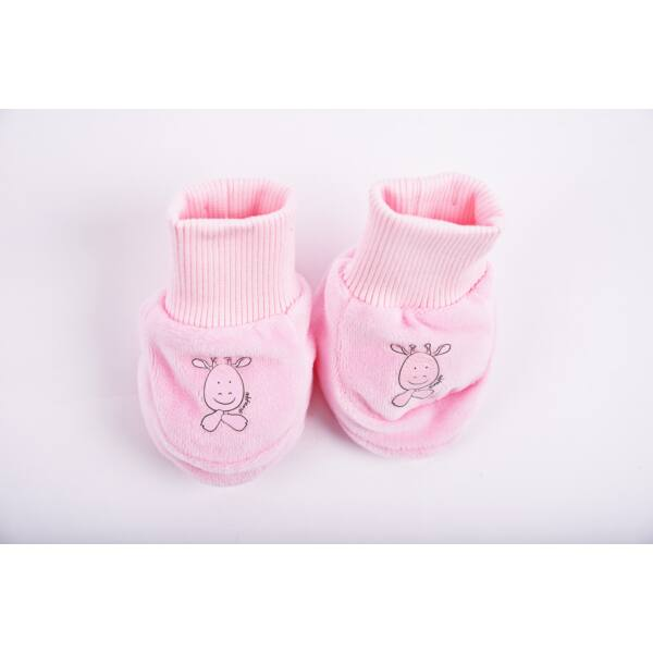 Safari cipőcske zsiráf rózsaszín