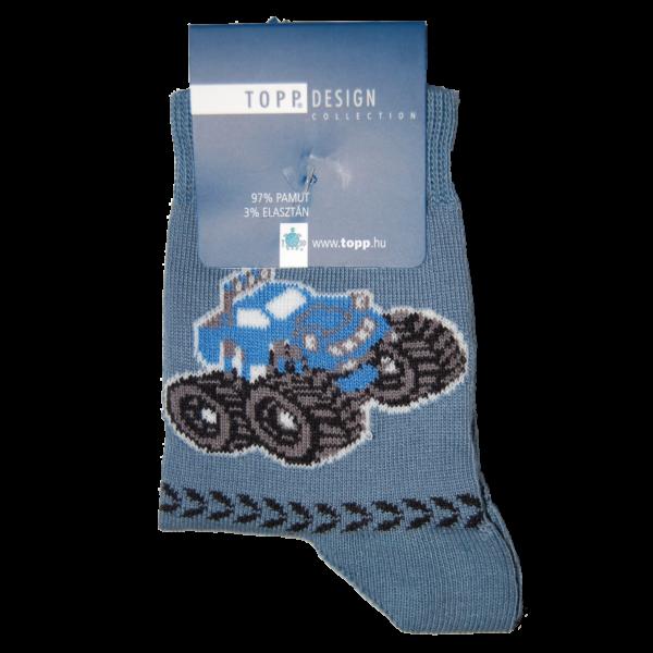 Terepjáró farmerkék gyermek zokni