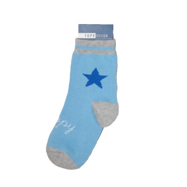 Bébi bokazokni nagy kék csillag
