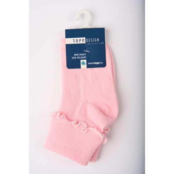 Baba zokni/Bokazokni rollni rózsaszín